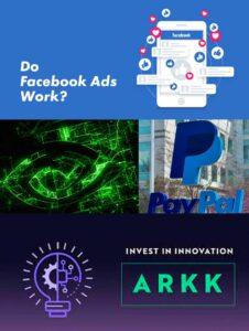 解釋買入美股Facebook (FB)、Nvidia (NVDA)及Paypal (PYPL),和賣出ARKK的原因,並分享我的看法。